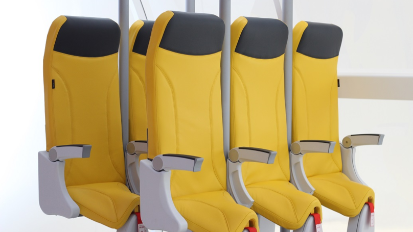 Italian Firm Releases Design For 'Standing' Plane Seats