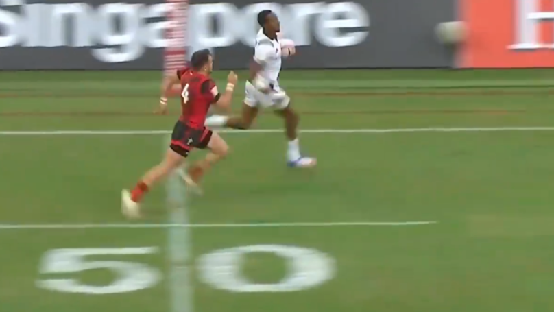Meet Perry Baker, One Of The Fastest Rugby Players In The World