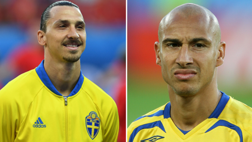 Zlatan Ibrahimovic Claims He's The Best Swedish Player Ever On Henrik Larsson's Birthday