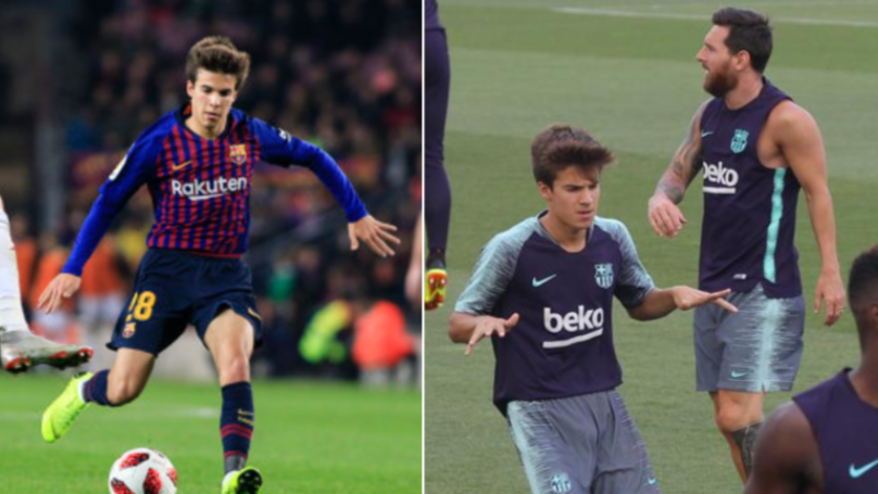 Lionel Messi 'Astonished' After Watching 'Next Andres Iniesta' Riqui Puig In Barcelona Training