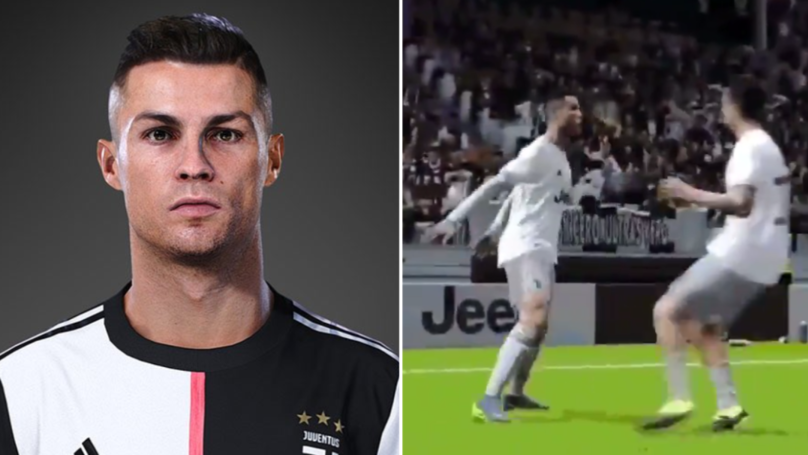 First Look At Cristiano Ronaldo's Siii Celebration In PES 2020