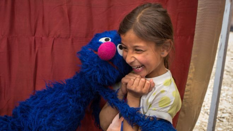 'Sesame Street' Is Taking Its Magic Abroad To Help Syrian Refugees