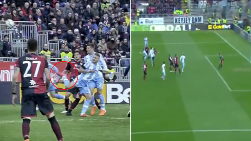 Ciro Immobile Scores An Insane 95th Minute Backheel Volley Equaliser