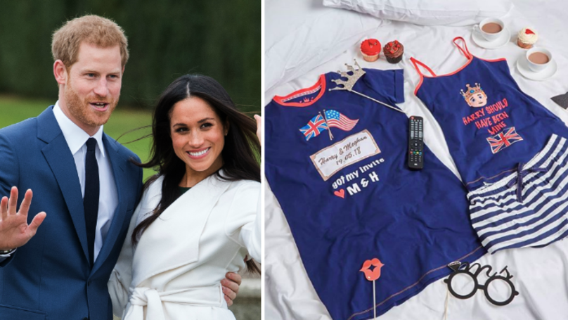 ​Primark Is Selling Royal Wedding PJs And They're So Fancy