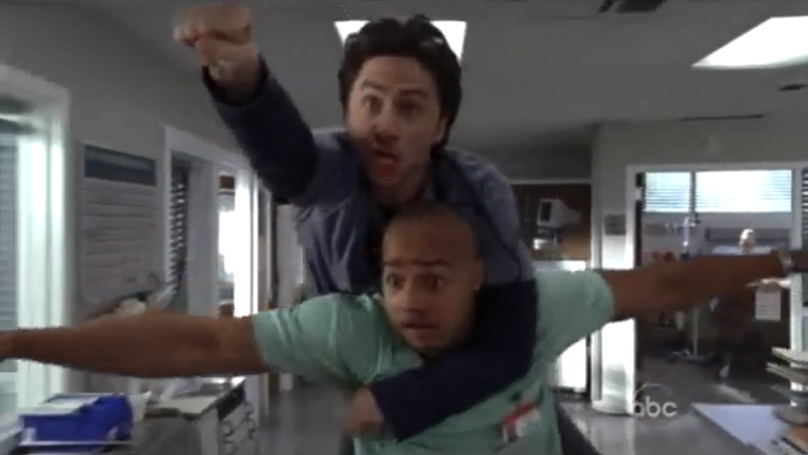 Zach Braff Says He Would 'Totally' Do A 'Scrubs' Movie