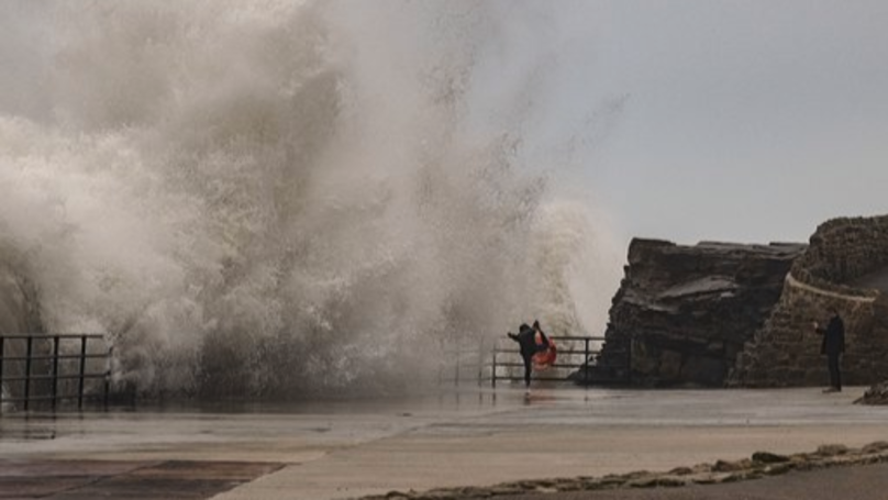 Instagrammers Brave Crashing Waves For Ultimate Social Media Snaps