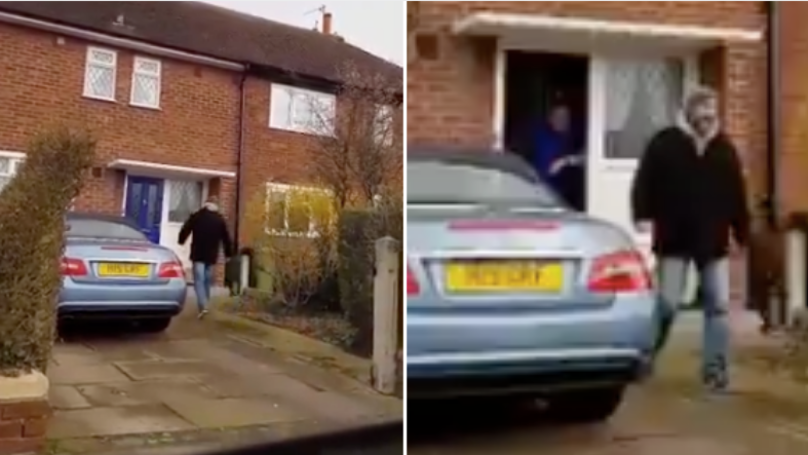 Newcastle Fan Drives 110 Miles To His Mate's House Just To Shout '3-2'