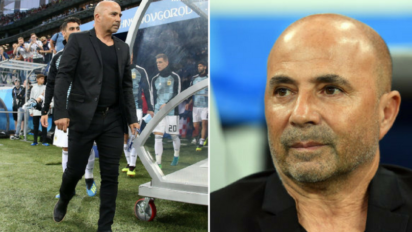 Argentina Boss Jorge Sampaoli Blasted By Croatia Manager
