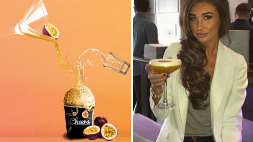 Grab A Spoon: Boozy Pornstar Martini Ice Cream Exists