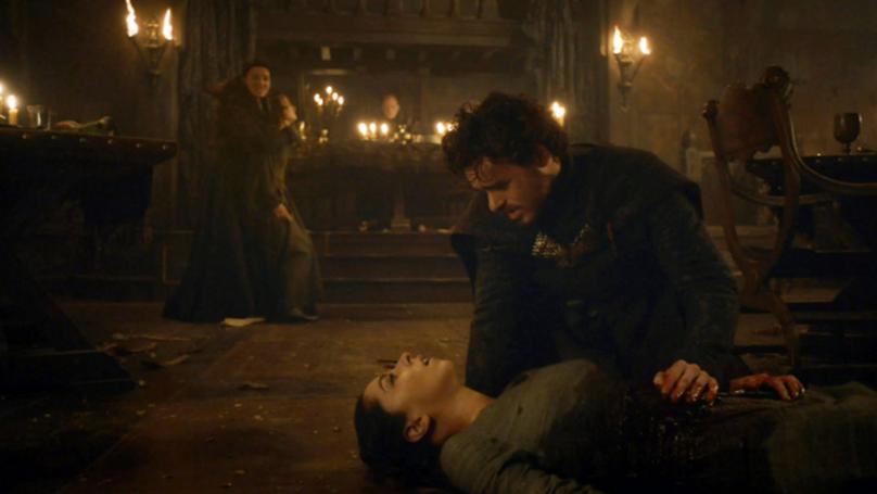 Netflix Trolls Game of Thrones Fans as Walder Frey Kisses Robb Stark