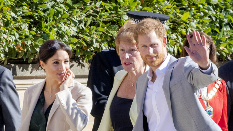 Duchess Of Sussex Meghan Markle And Prince Harry Are Expecting Their First Child