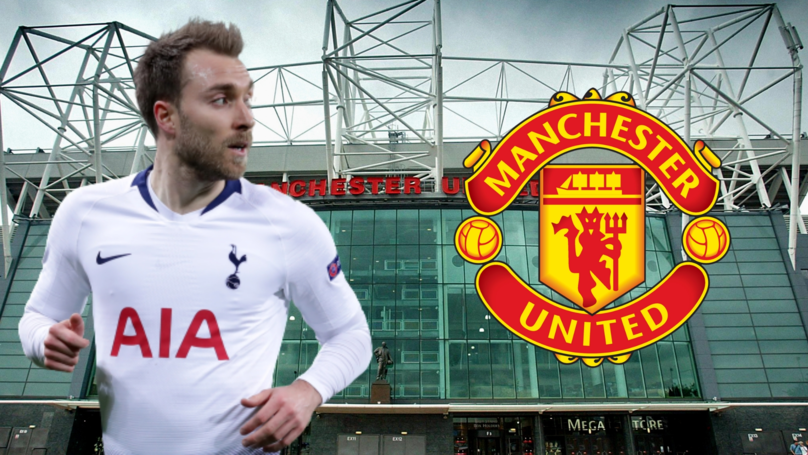 Manchester United Are Willing To Triple Christian Eriksen's Wages To Land Him This Summer