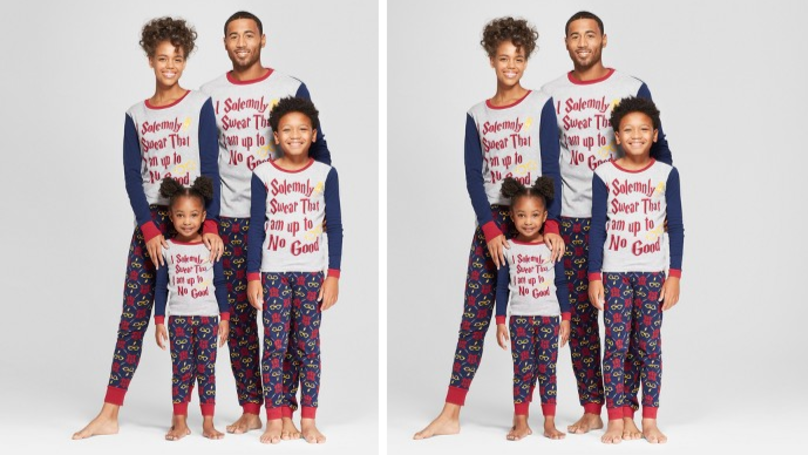 You Can Now Get Matching Harry Potter PJs For The Whole Family And They're Magical