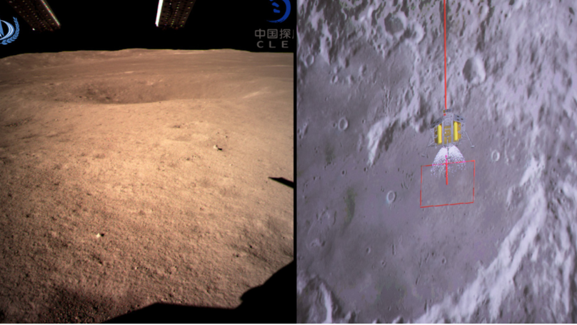 Chinese Spacecraft Sends First Photos From The Dark Side Of The Moon