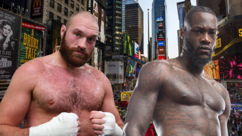 "Tyson Fury Challenges ""Big Dosser"" Deontay Wilder To A Bare Knuckle Fight In New York"