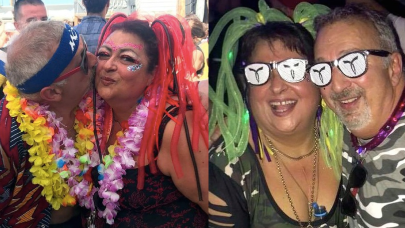 Raver Couple Won't Stop Partying – Despite Nearly Being Pensioners