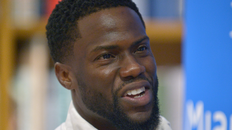 Kevin Hart Shares Meme Of Himself Laughing Off Cheating Accusations