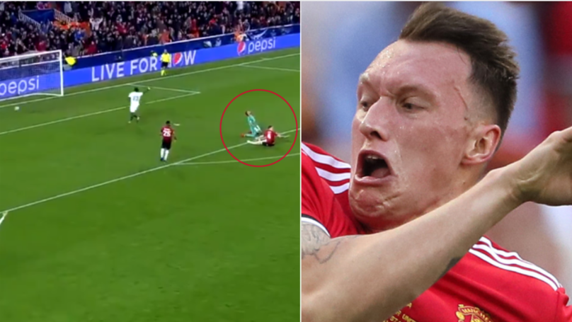 Phil Jones Scores The Most Phil Jones Own Goal Ever Against Valencia