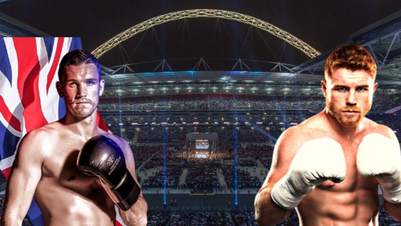 Saul Canelo Alvarez Eyeing Unification Fight With Callum Smith At Wembley