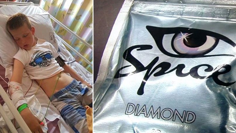 Mum Shares Confronting Picture Of 11-Year-Old Son After He Smoked Spice