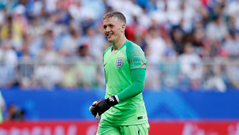 Jordan Pickford Wasn't Even Born Last Time England Played A World Cup Semi