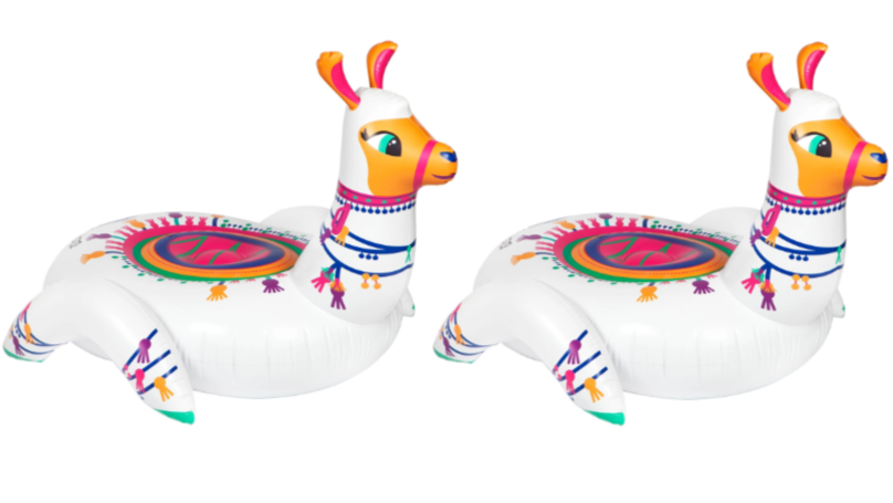 Ride The Waves With This Adorable Llama Pool Float