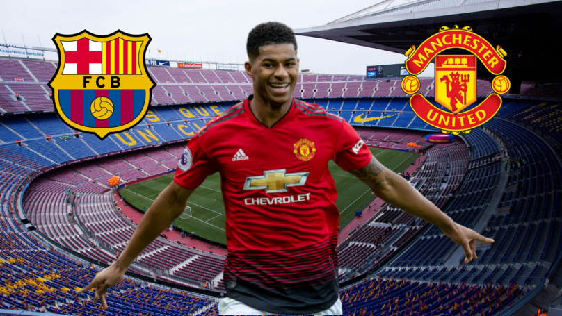 Barcelona Have Shortlisted Marcus Rashford As A Potential Replacement For Luis Suárez