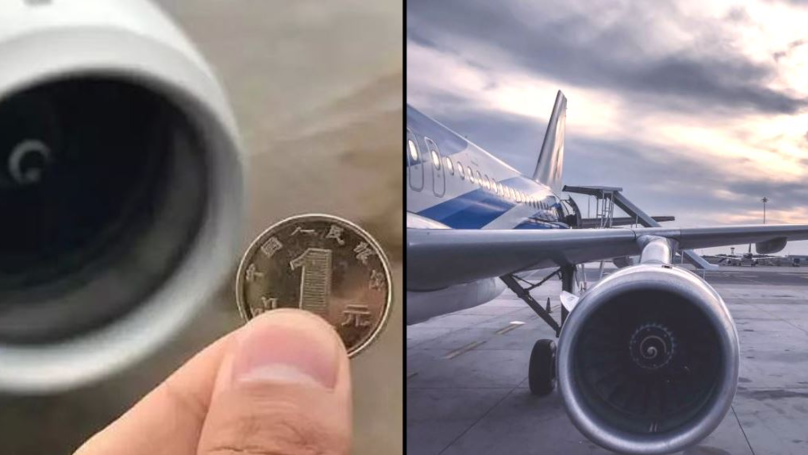 Passenger Throws Six Coins At Plane Engine For Good Luck