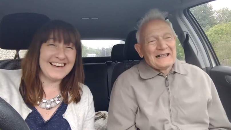 Heartwarming Video Shows Dementia Patient Singing On The Way To Music Therapy