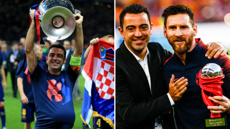 Xavi Being Lined Up For Return To Barcelona