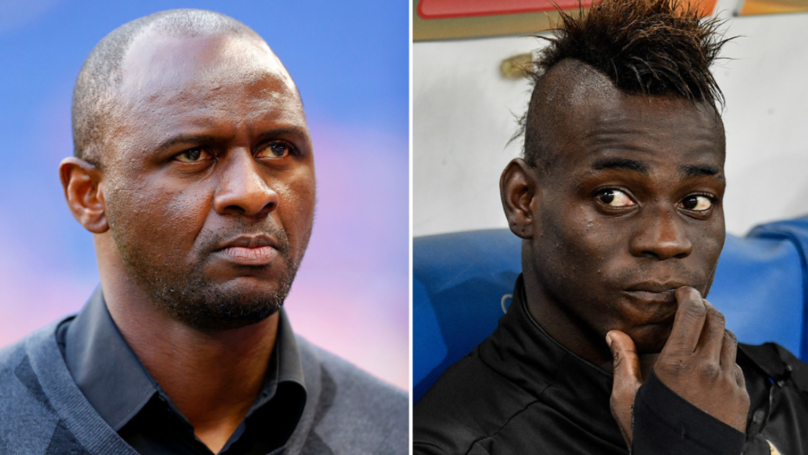 Mario Balotelli Is Already In New Nice Manager Patrick Vieira's Bad Book