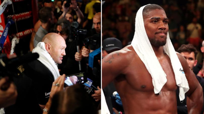 """Tyson Fury: """"Anthony Joshua Is Finished"""""""