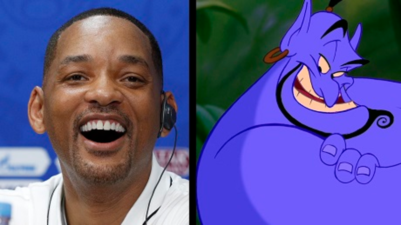 First Pictures Of Will Smith As The Genie In 'Aladdin' Released
