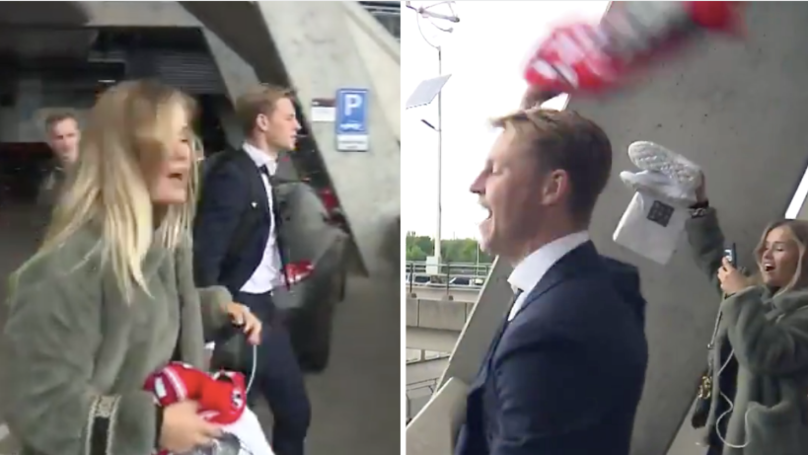 Frenkie De Jong Gets Spine-Tingling Farewell From Ajax Supporters