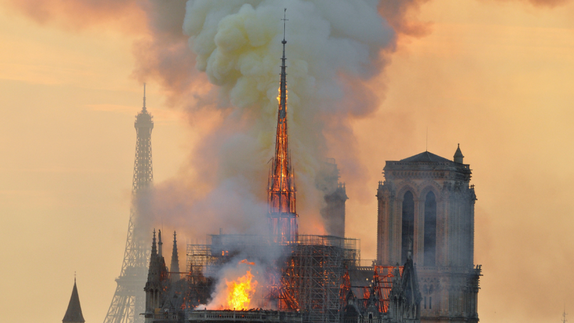 Mum Claims To See Jesus In Notre-Dame Flames And Hopes 'It Will Bring Comfort'