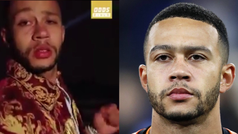 Depay Celebrated Reaching Five Million Instagram Followers In The Most Bizarre Way