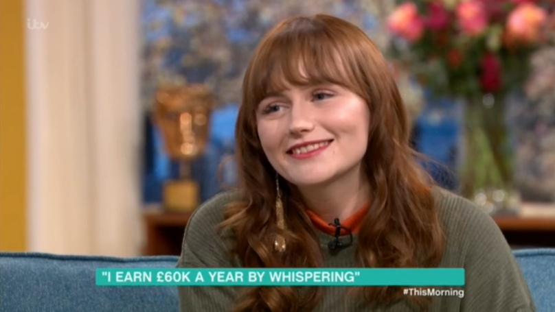 YouTube 'Whispering Girl' Tells 'This Morning' Viewers How She Earns £60k A Year Online