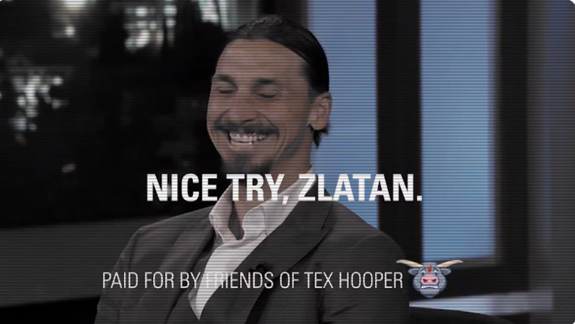 FC Dallas Troll Zlatan Ibrahimovic Over His MLS Failure