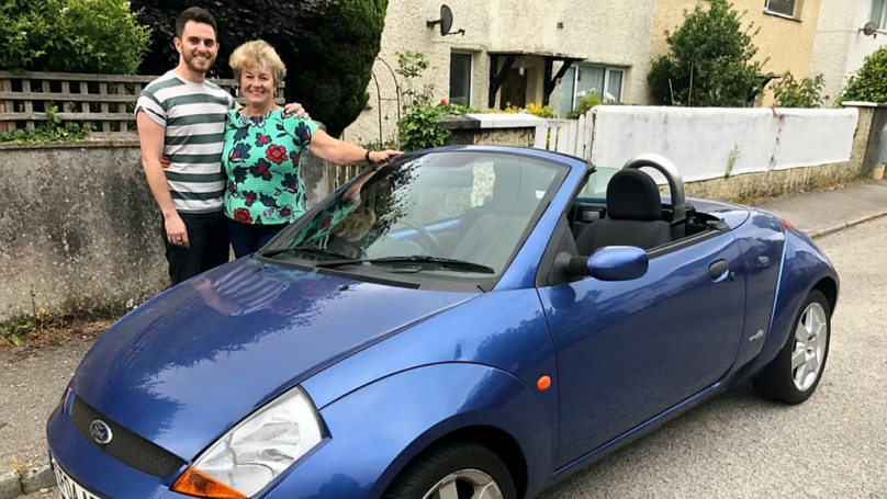 Son Buys Mum Dream Car 12 Years After She Sold Hers To Fund His Music Career