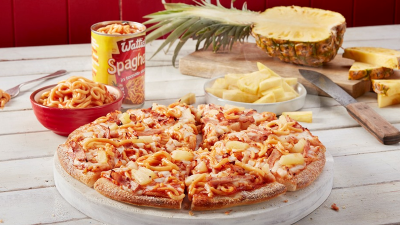 Domino's Launches Pineapple And Canned Spaghetti Pizza