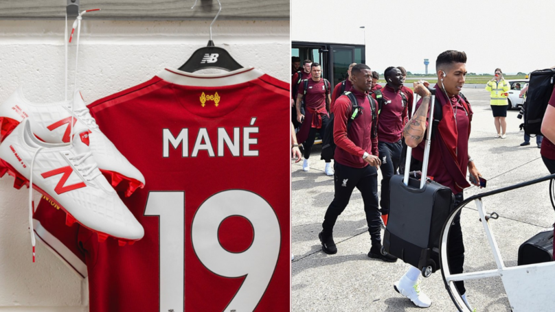 Sadio Mane Has Sent 300 Liverpool Shirts To His Village In Senegal Ahead Of  Champions League fd3e71055