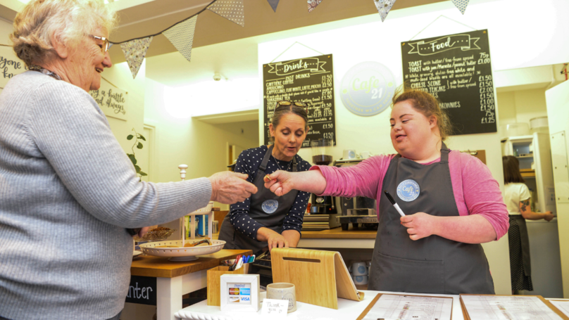 Cafe Hires People With Down Syndrome To Help Them Get Work Experience