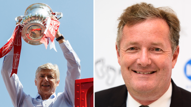Piers Morgan Makes Brave Promise After Arsene Wenger Signs New Arsenal Deal
