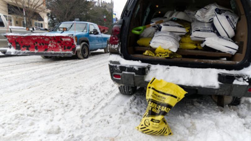 Storm Grayson 'Deep Freezes' The US As Temperatures Plummet To -69C