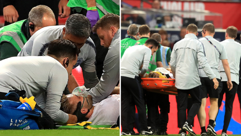 Fans Are Gutted For Luke Shaw After Freak Head Injury