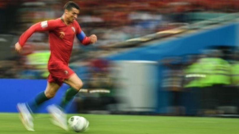At The Age Of 33, Cristiano Ronaldo Records Top Speed At The World Cup