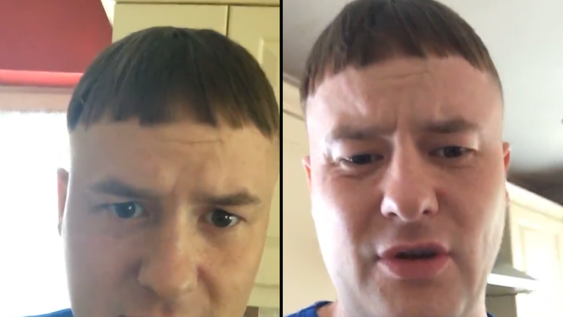 Man Fuming After Haircut Left Him Looking Like Lloyd From 'Dumb And Dumber'