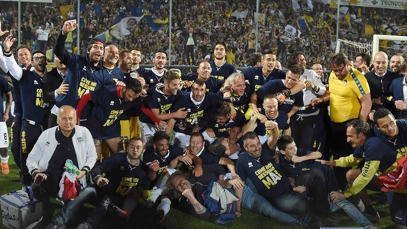 Parma Secure Third Straight Promotion, Back In Serie A