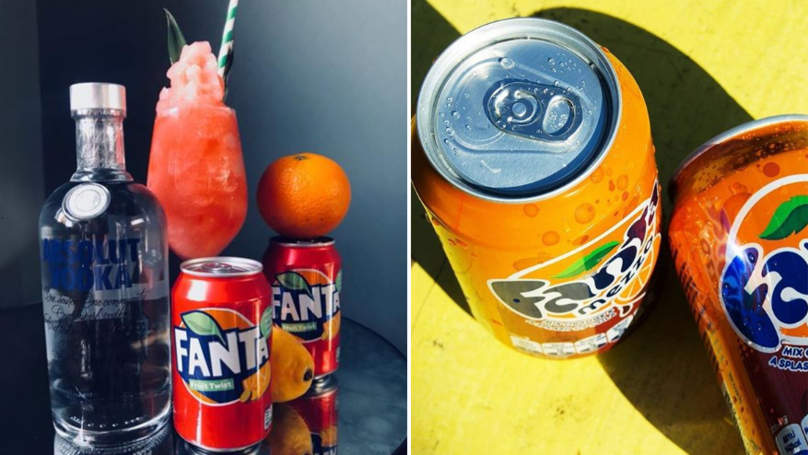 This Bar's Created Fanta Fruit Twist And Candyfloss Slushies