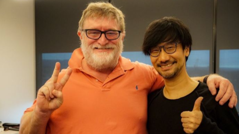 Hideo Kojima And Gabe Newell Hang Out At Valve Headquarters